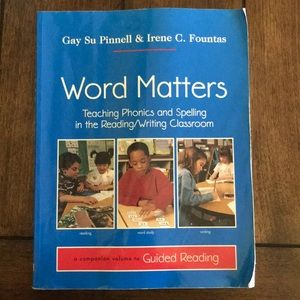 Other - Word Matters (Pinnell & Fountas)